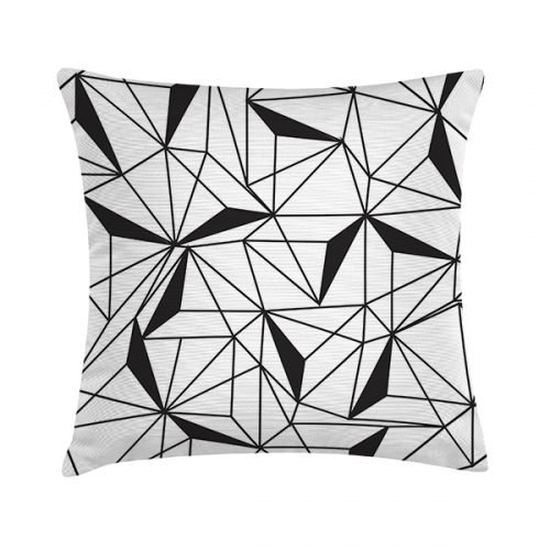 Eco Design Kussen B&W Geometric 45x45