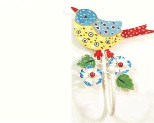 FairForward Haak Vogel Blauw Wit Metaal