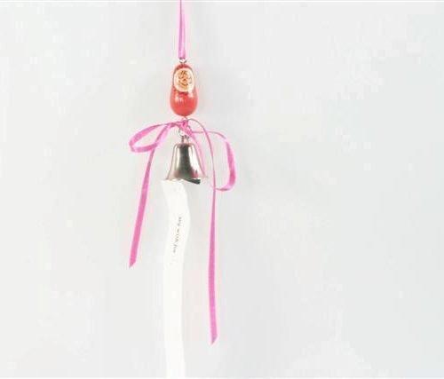 FairForward Hanger 'Wensbel' Baby Roze Hout/Met.