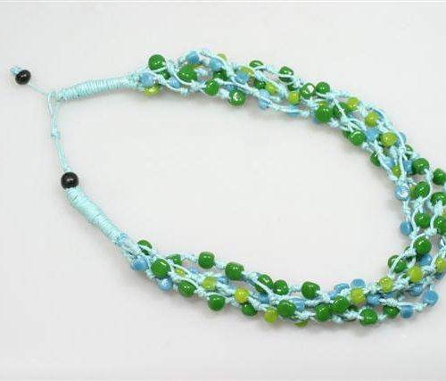 FairForward Kett. 'Recycled Glas' L-Bl. Gedraaid Kat