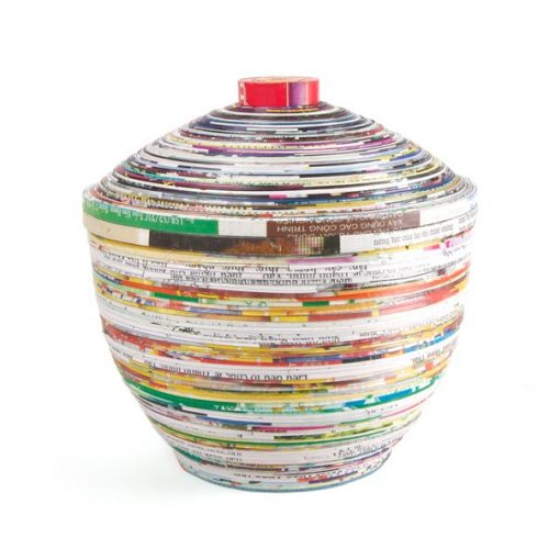 FairForward Kom+Deksel Papier Recycled Gr.