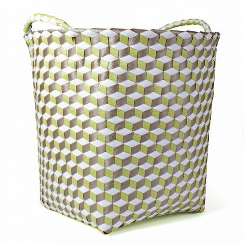 FairForward Mand 'Graphic' Groen/Wit Plastic