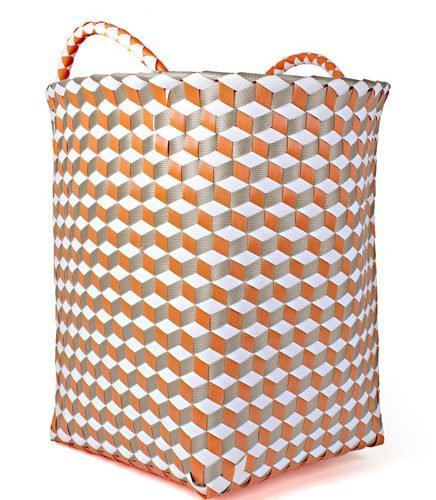 FairForward Mand 'Graphic' Oranje/Wit Plastic