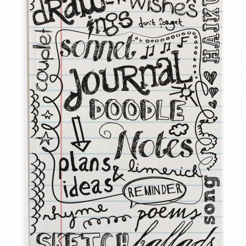 FairForward Notitieboek A5 Handlett Doodle