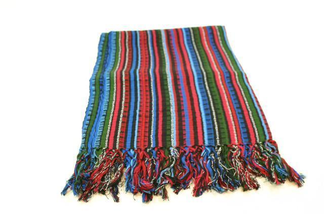 FairForward Sjaal Ikat Multicolor Katoen 60x200cm