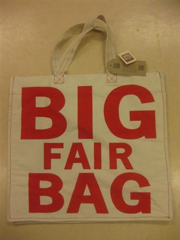 FairForward Tas Canvas Bio 'Big Fair Bag'