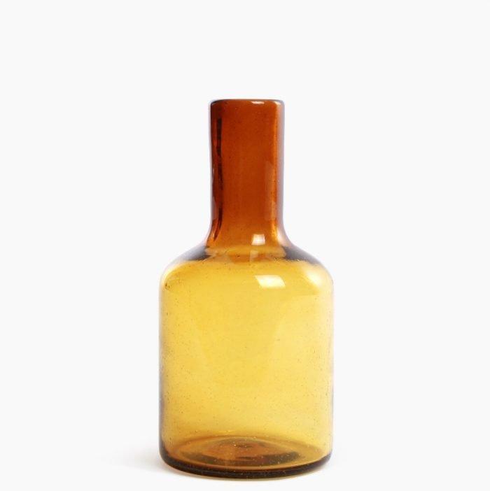 Imperfect design Karaf Glas H25xB12cm amber