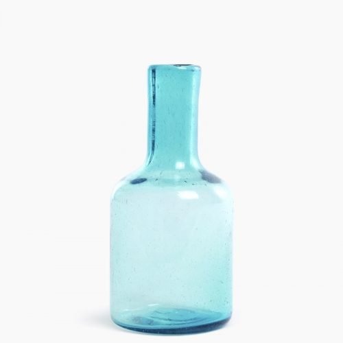 Imperfect design Karaf Glas H25xB12cm aqua