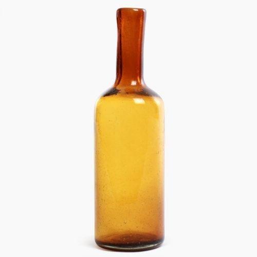 Imperfect design Karaf Glas H35xB10cm amber