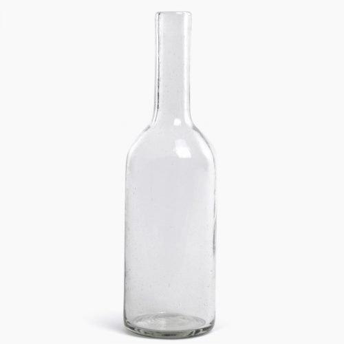 Imperfect design Karaf Glas H35xB10cm trans