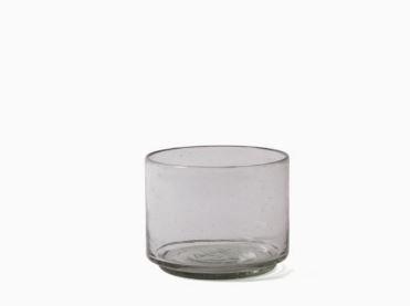 Imperfect design Kom Glas recht H10xB13cm trans