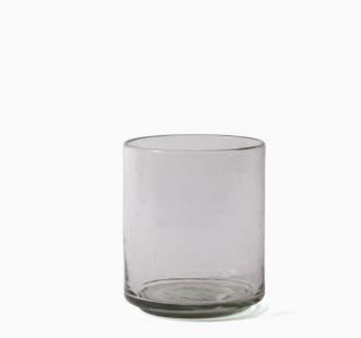 Imperfect design Kom Glas recht H15xB13cm trans