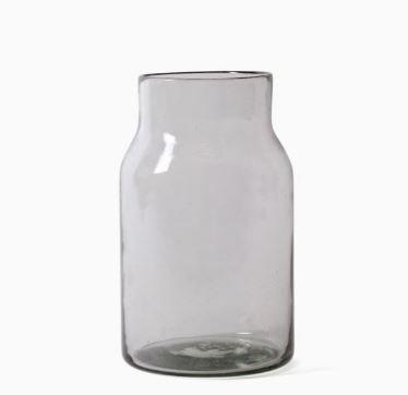 Imperfect design Kom Glas rond H25xB16cm trans