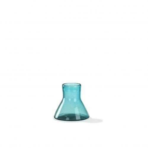 Imperfect design Top vaas Glas H15xB16cm aqua