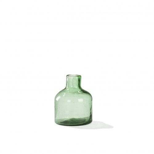 Imperfect design Vaas Glas H20xB16cm green