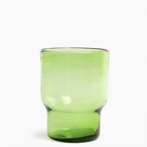 Imperfect design Vaas Glas small H20xB16cm green