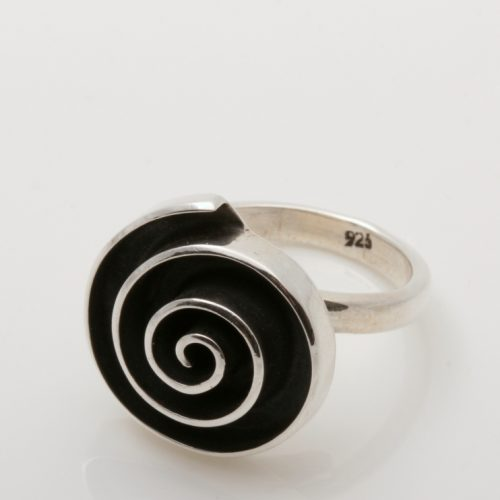 Esperanza Ring Zilver Labyrinth Rond