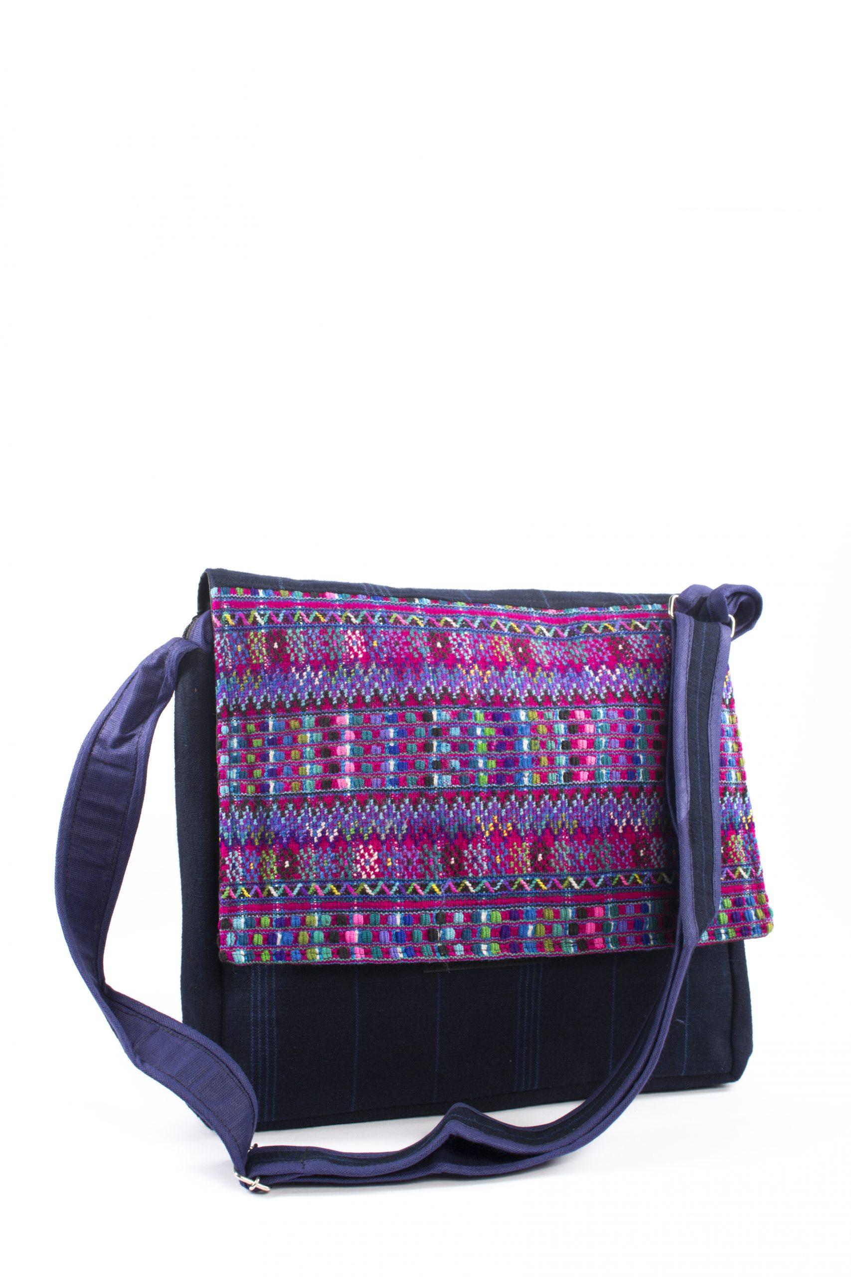 Bohemian Fair Trade Tas Koerier Klep