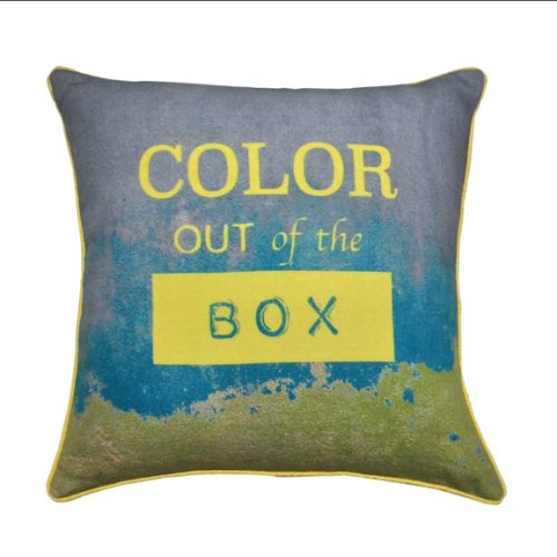 Eco Collection Kussen Color Out Of The Box 45x45cm