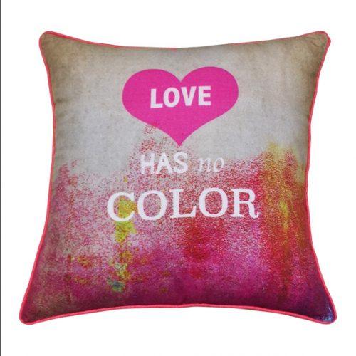 Eco Collection Kussen Love Has No Color 45x45cm