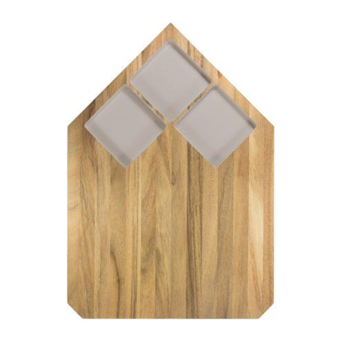 Eco Design Presenteerblad 28*40 Lichtgrijs