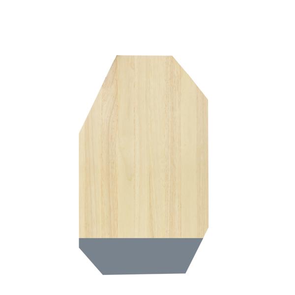 Eco Design Snijplank 30*50 Grijs/Rw