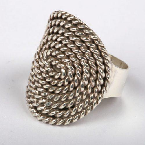 Esperanza Ring Zilver Spiraal Gedraaid-20
