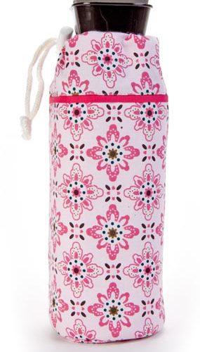 Keep Leaf Bottle Bag Large Floral 89x241 Mm