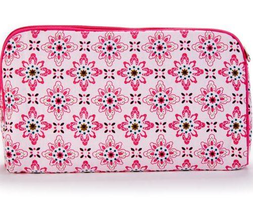 Keep Leaf Clutch/Toiletry Bag Floral 305x203x76 Mm