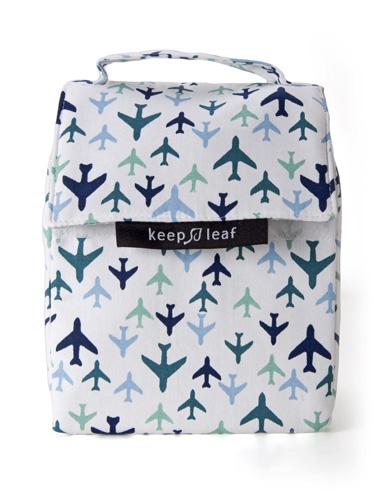 Keep Leaf Lunch Bag Planes 254x180x127 Mm