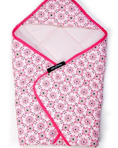Keep Leaf Quilted Baby Blanket Floral 1016x1016 Mm
