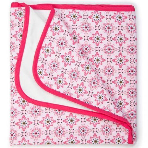 Keep Leaf Stroller Blanket Floral 762x1016 Mm