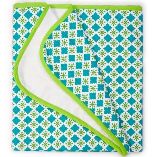 Keep Leaf Stroller Blanket Tiles 762x1016 Mm