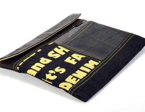 Kinta Tablet Hoes Den & Rub 29x22cm Geel