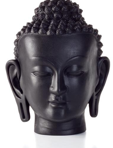 Madat Nepal Boeddha Hoofd 30cm