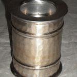 Only Natural Kaarsenstandaard Aluminium Natural 6.5x7.5