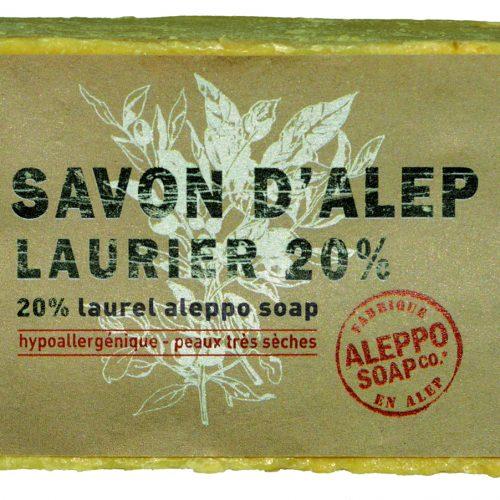 Savon de Provence Savon d'Alep 20% 200gr
