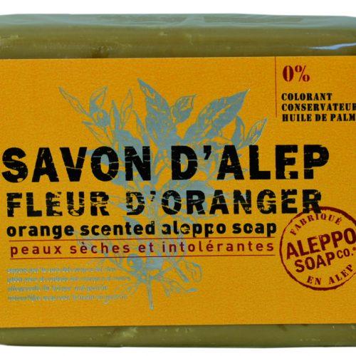 Savon de Provence Savon d'Alep Fleur d'Oranger 100gr