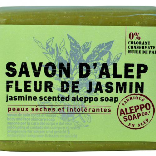 Savon de Provence Savon d'Alep Fleur de Jasmin 100gr