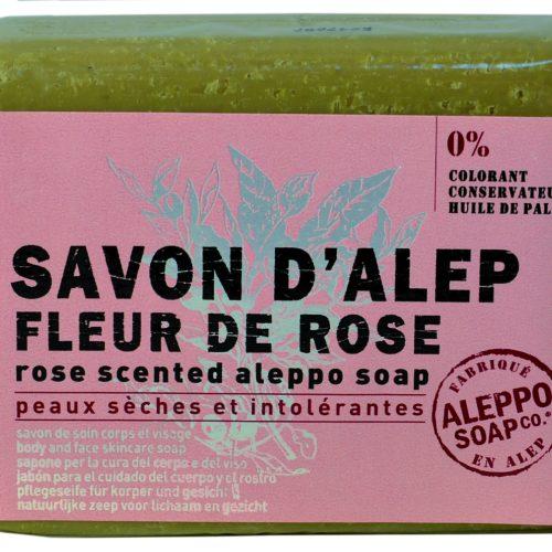 Savon de Provence Savon d'Alep Fleur de Rose 100gr