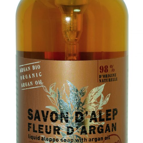 Savon de Provence Savon d'Alep Liquide Fleur d'Argan 500ml