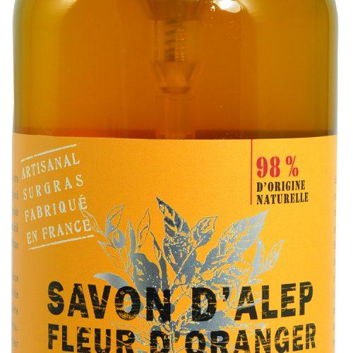 Savon de Provence Savon d'Alep Liquide Fleur d'Oranger 500ml