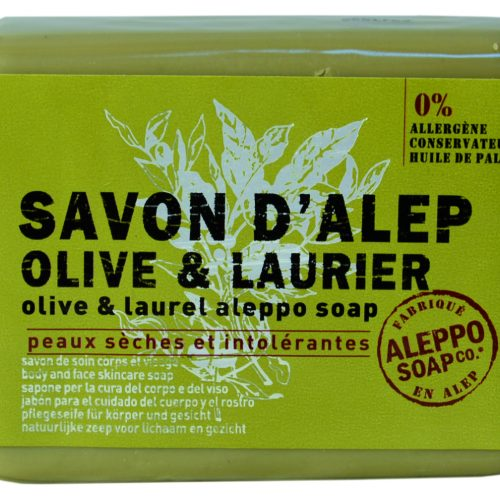 Savon de Provence Savon d'Alep Olive & Laurier 100gr